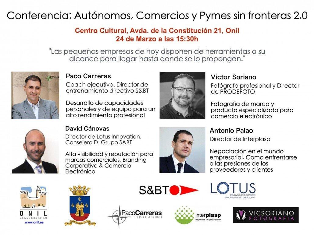 David Cánovas en la Conferencia Autonomos, Comercios y Pymes sin fronteras