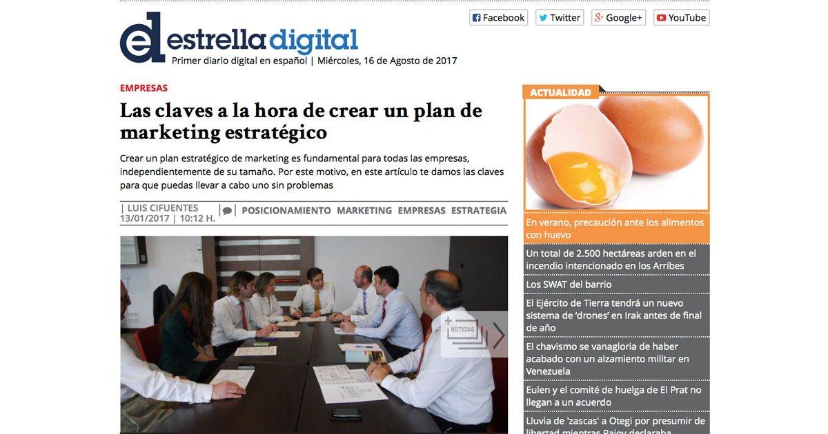 Entrevista a David Cánovas Expósito en Estrella Digital