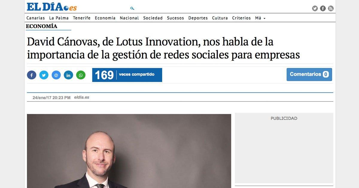 Diario El Día - Gestión de redes sociales